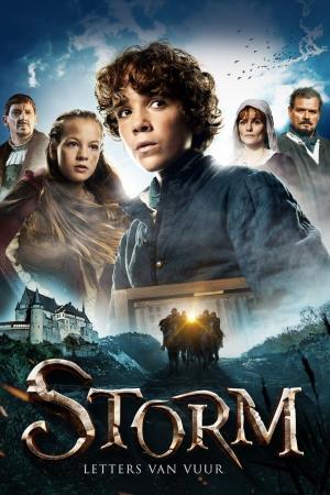 affiche Storm et la lettre de feu