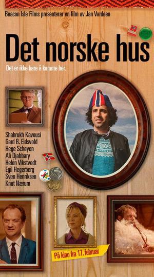 affiche Det norske hus