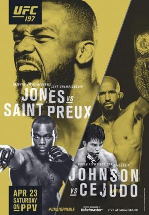 affiche UFC 197: Jones vs. Saint Preux