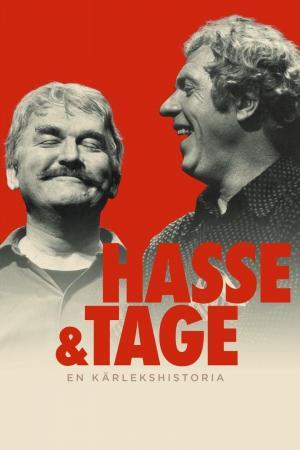 affiche Hasse & Tage - En kärlekshistoria