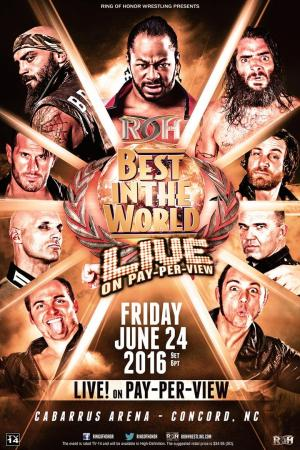affiche ROH: Best in the World 2016