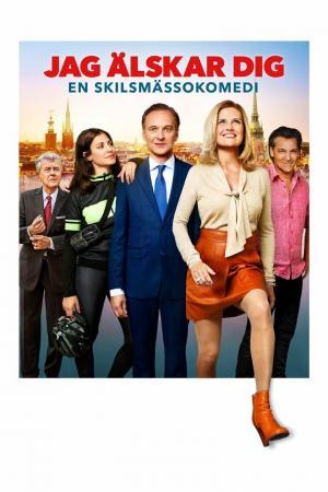 affiche Jag älskar dig - en skilsmässokomedi