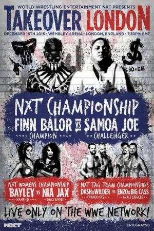 affiche NXT TakeOver: London