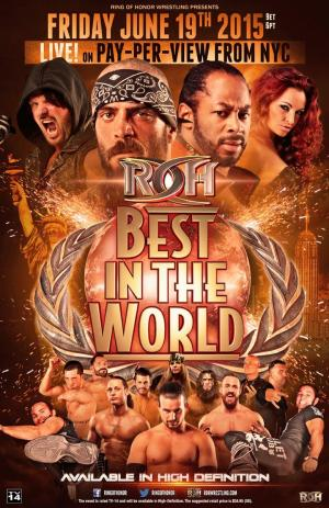 affiche ROH Best in the World 2015