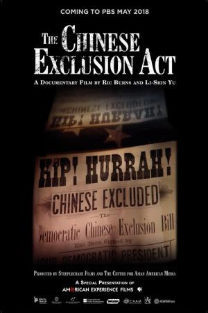 affiche The Chinese Exclusion Act