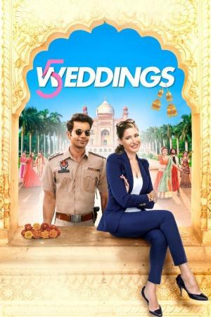 affiche 5 Weddings