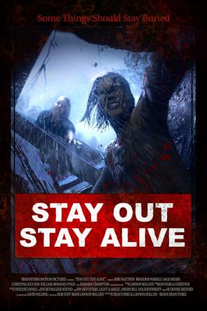 affiche Stay Out Stay Alive