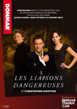 affiche National Theatre Live: Les Liaisons Dangereuses