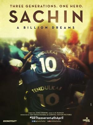 affiche Sachin: A Billion Dreams