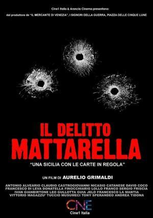 affiche Il delitto Mattarella