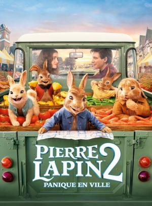 affiche Pierre Lapin 2 : Panique en ville