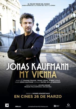 affiche Jonas Kaufmann – Mein Wien