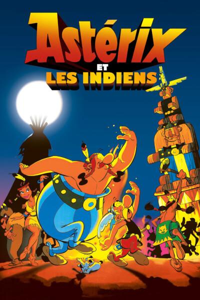 affiche Astérix et les Indiens