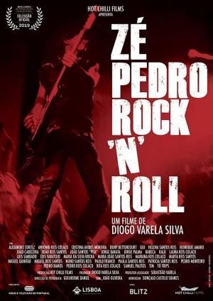 affiche Zé Pedro Rock 'n' Roll