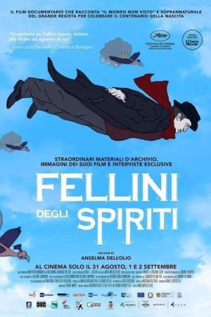 affiche Fellini degli spiriti