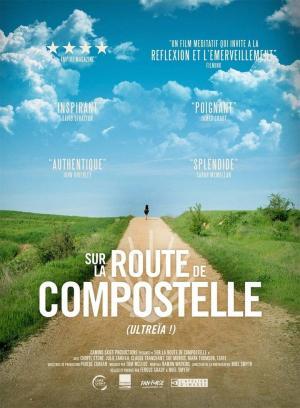 affiche Sur la route de Compostelle