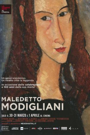 affiche Maledetto Modigliani