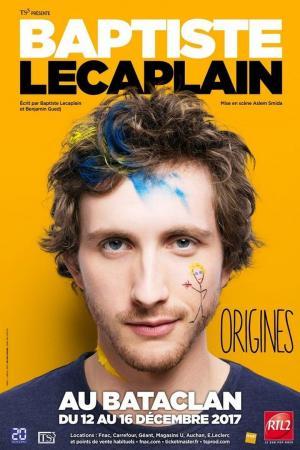 affiche Baptiste Lecaplain - Origines