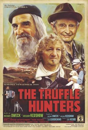 affiche Chasseurs de truffes