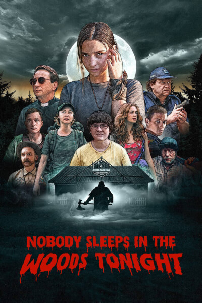 affiche Nobody Sleeps in the Woods Tonight
