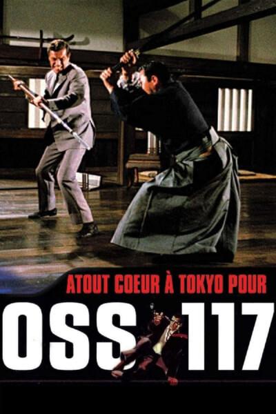 affiche Atout cœur à Tokyo pour OSS 117