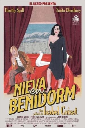 affiche Nieva en Benidorm