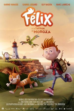 affiche Félix et le trésor de Morgäa