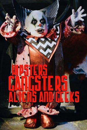 affiche Aliens, Clowns & Geeks