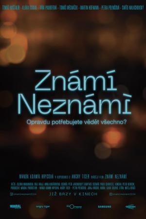 affiche Známi neznámi