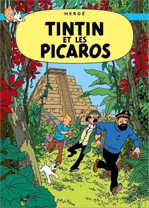 affiche Tintin et les Picaros