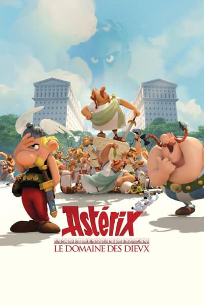 affiche Astérix : Le Domaine des dieux