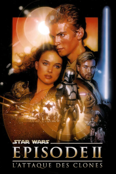 affiche Star Wars, épisode II - L'Attaque des clones