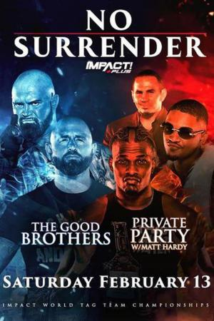 affiche IMPACT Wrestling:  No Surrender 2021