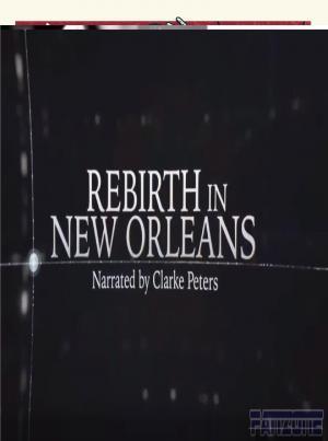affiche Rebirth in New Orleans