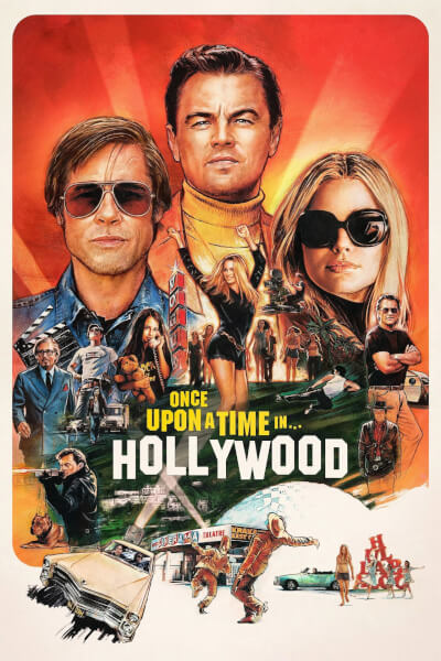 affiche Once Upon a Time… in Hollywood