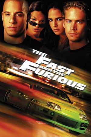 affiche The Fast and the Furious