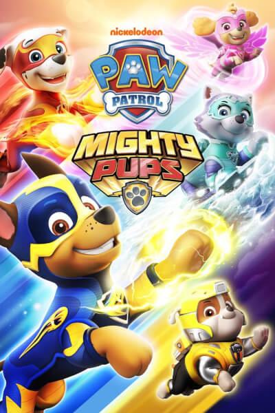 affiche Mighty Pups, La Super Patrouille