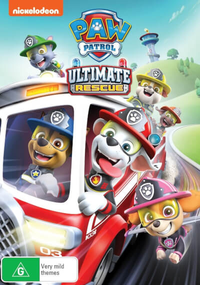 affiche Paw Patrol: Ultimate Rescue