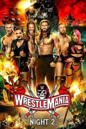 affiche WWE: WrestleMania 37 (Night 2)