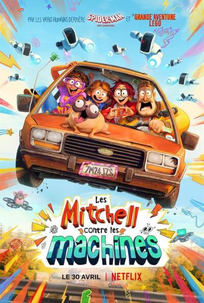affiche Les Mitchell contre les machines