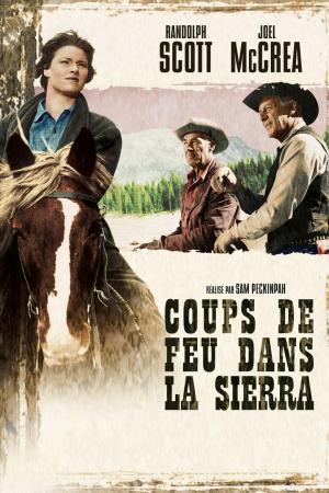 affiche Coups De Feu Dans La Sierra