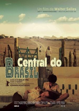 affiche Central do Brasil