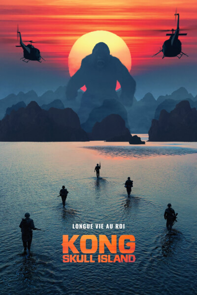 affiche Kong : Skull Island