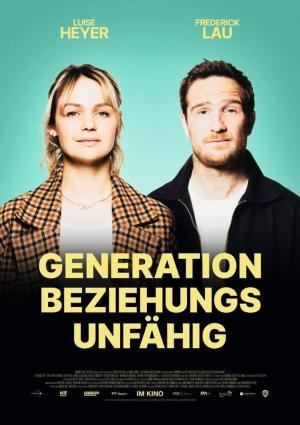 affiche Generation Beziehungsunfähig