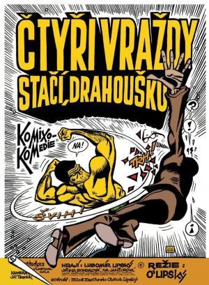 affiche Čtyři vraždy stačí, drahoušku