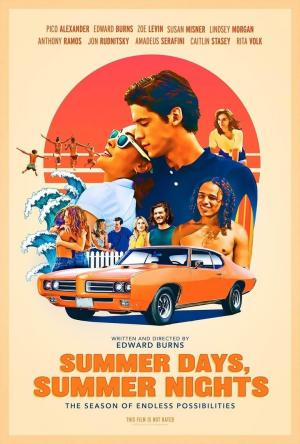 affiche Summer Days, Summer Nights