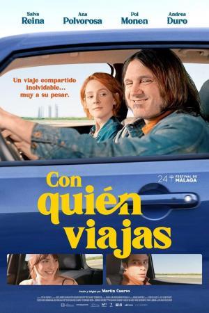 affiche Con quién viajas