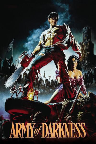 affiche Evil Dead 3: L'Armée des ténèbres