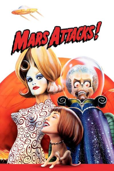 affiche Mars Attacks!
