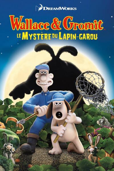 affiche Wallace & Gromit : Le mystère du lapin-garou